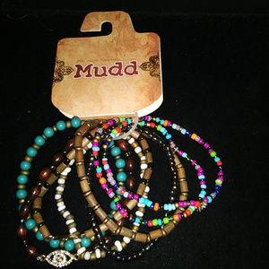 Mudd Multi-Strand Stretch Bracelet NWT